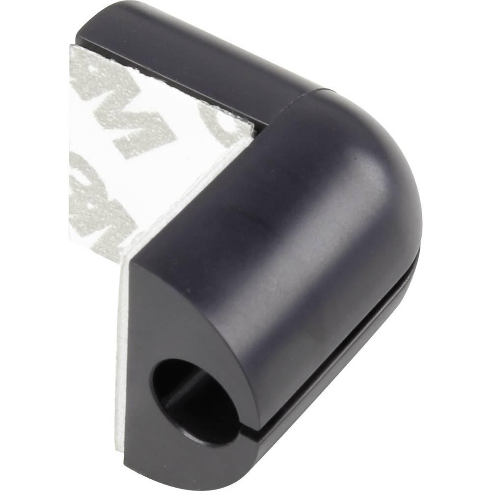 Sponka za kable za kotno pritrditev črne barve 1226940 1 kos