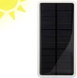 Solcelle-powerbank VOLTCRAFT SL-3 LiPo 5000 mAh Hvid