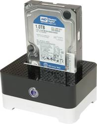 USB 3.0 Harddisk-dockingstation LogiLink QP0016B SATA 1 porte