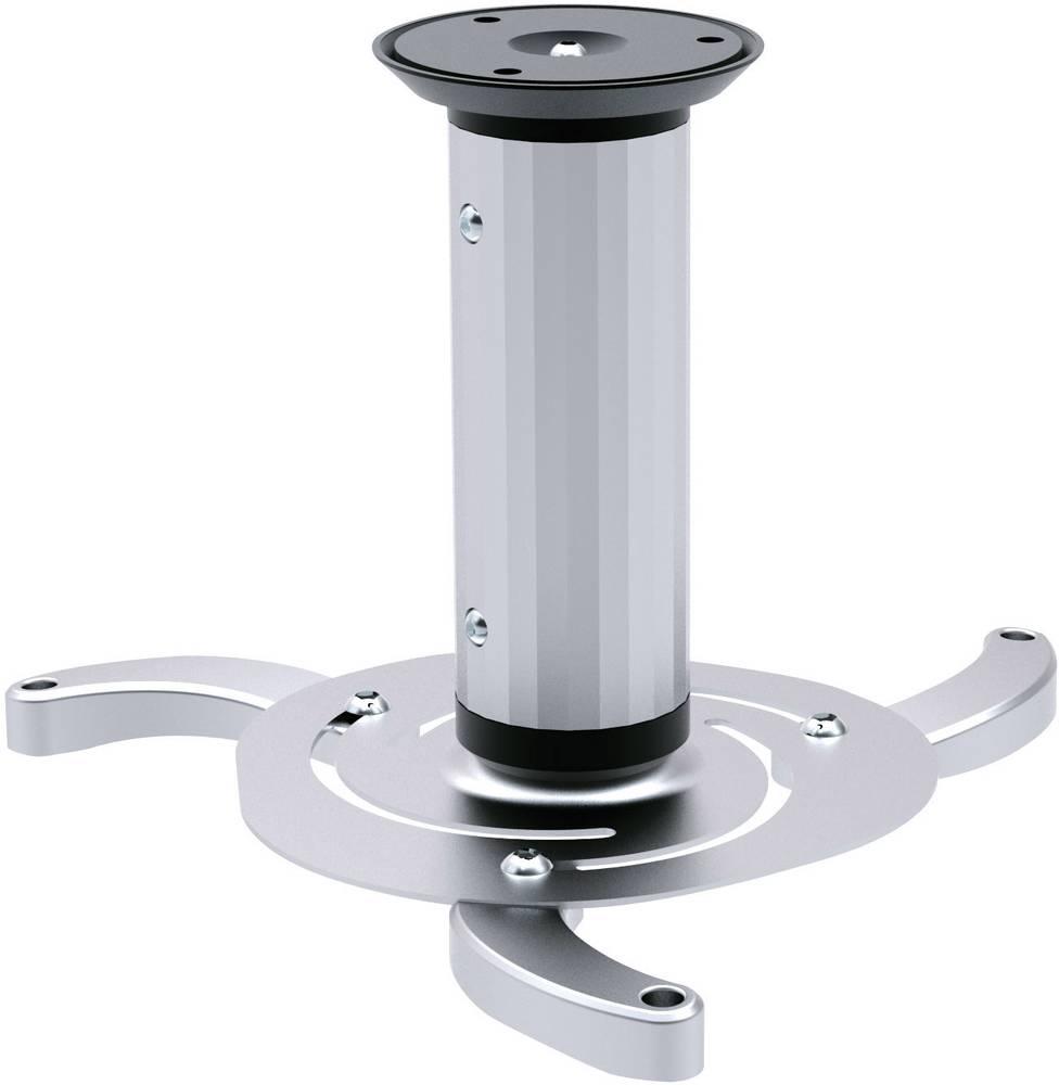 Stropni nosilec za projektor nagiben, vrtljiv višina (maks.): 20 cm SpeaKa Professional srebrn