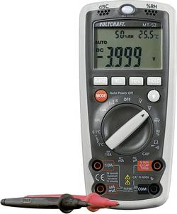 Ročni multimeter, digitalni VOLTCRAFT MT-52 kalibracija narejena po: delovnih standardih, merilna funkcija za okolje CAT III 600