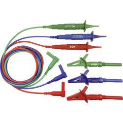 Sikkerhedsprøveledning sæt Cliff CIH3022 1.25 m Rød, Blå , Grøn