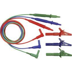 Sikkerhedsprøveledning sæt Cliff CIH29917 1.5 m Blå , Grøn, Rød