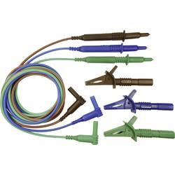 Sikkerhedsprøveledning sæt Cliff CIH29915 1.5 m Blå , Grøn, Brun