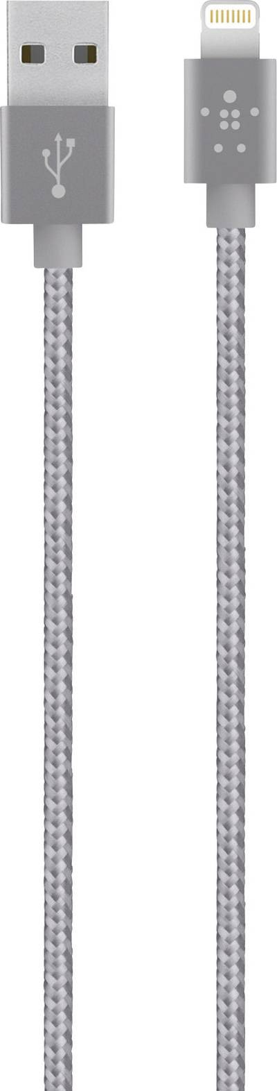 Compare cheap offers & prices of Belkin Premium Tangle-free Braided Lightning To Usb Charge And Sync Cable With Aluminium Connectors For iPhone iPad And iPod In Grey manufactured by Belkin