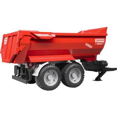 Brother Krampe Tandem Half Pipe-dump trailer