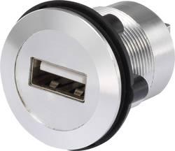 USB-uttag typ A till USB-uttag typ B TRU COMPONENTS USB-02 USB 2.0 Silver 1 st