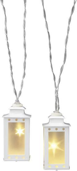 Motiv-lyskæde Polarlite Lanterner 16 LED Varm hvid 6 m Indvendigt via strømdrift