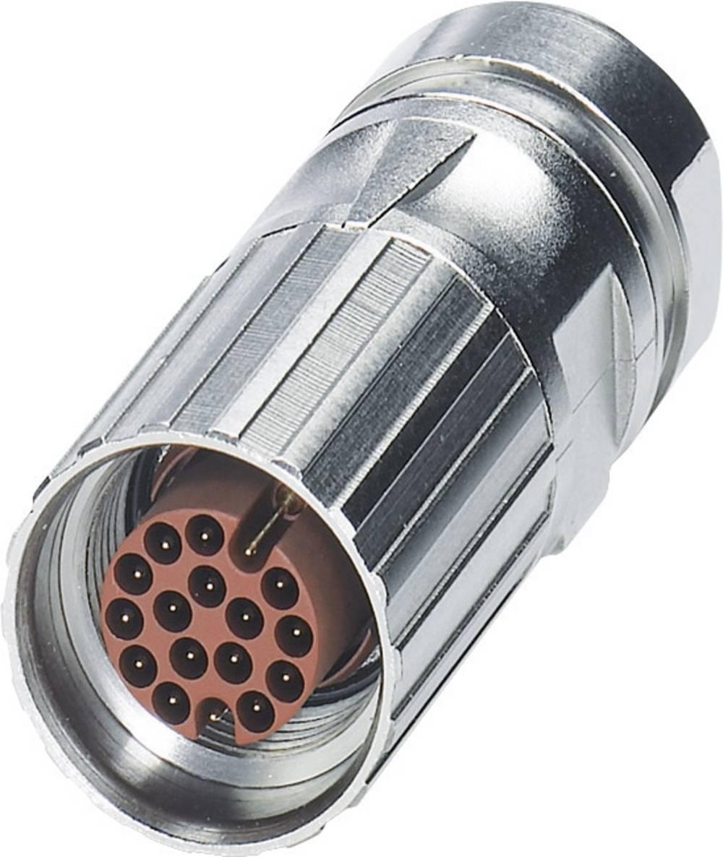 M17-kabelstik Phoenix Contact ST-08P1N8A8005 Sølv 1 stk