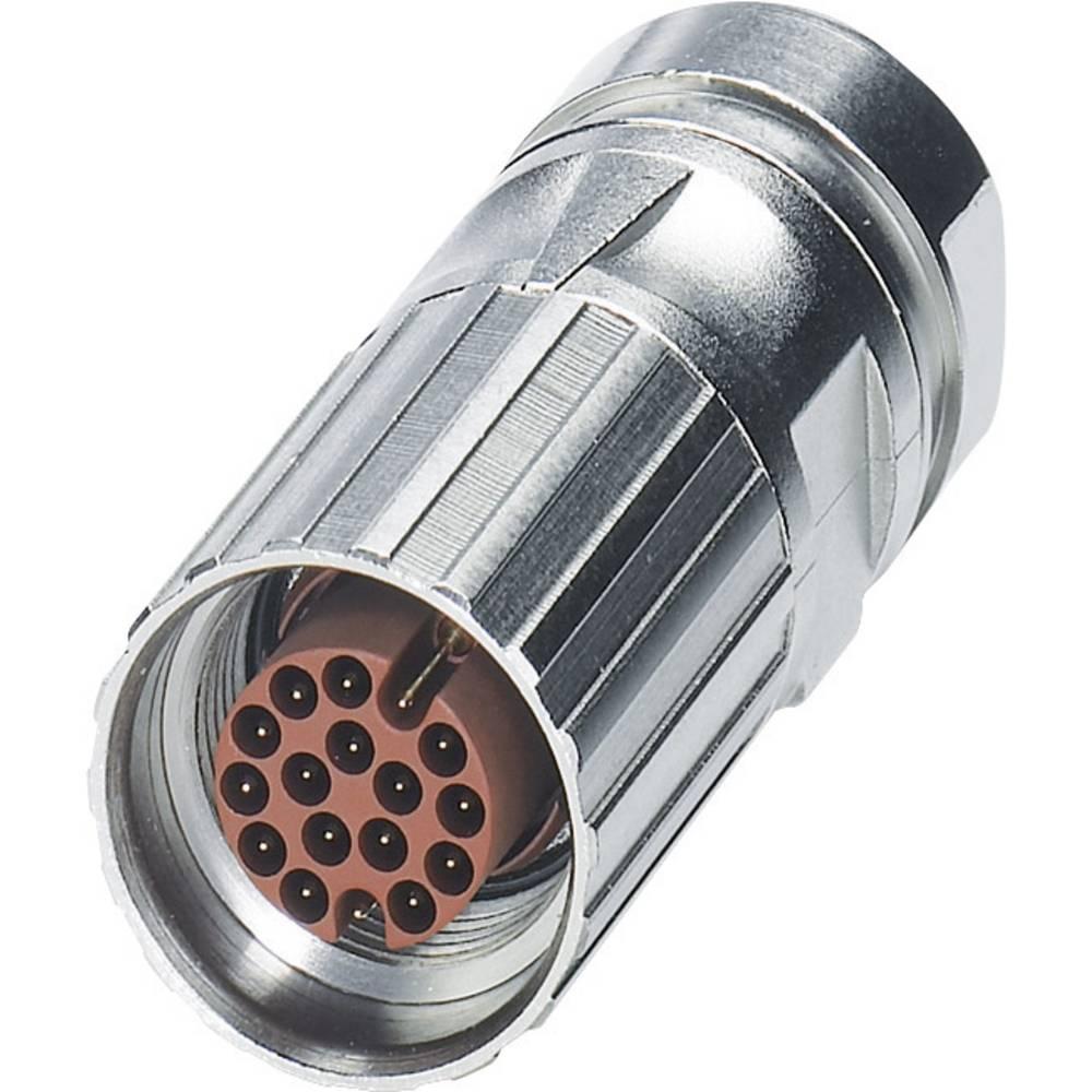 M17-kabelstik Phoenix Contact ST-17P1N8A8003 Sølv 1 stk