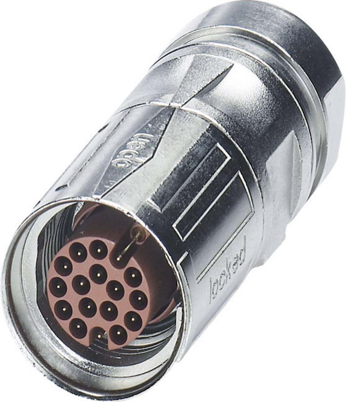 M17-kabelstik Phoenix Contact ST-08P1N8A8004S Sølv 1 stk