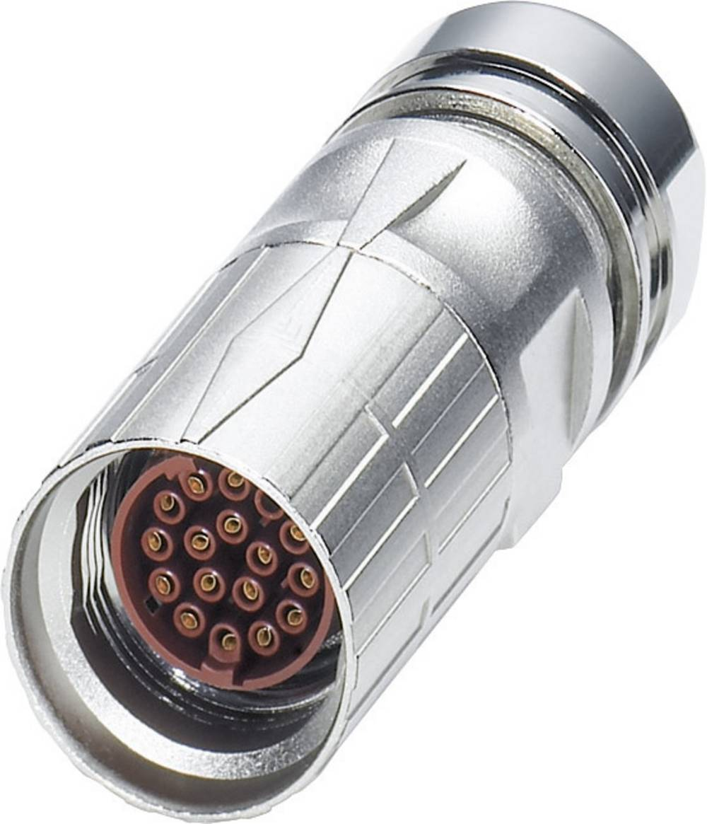 M17-kabelstik Phoenix Contact ST-08S1N8A8004S Sølv 1 stk