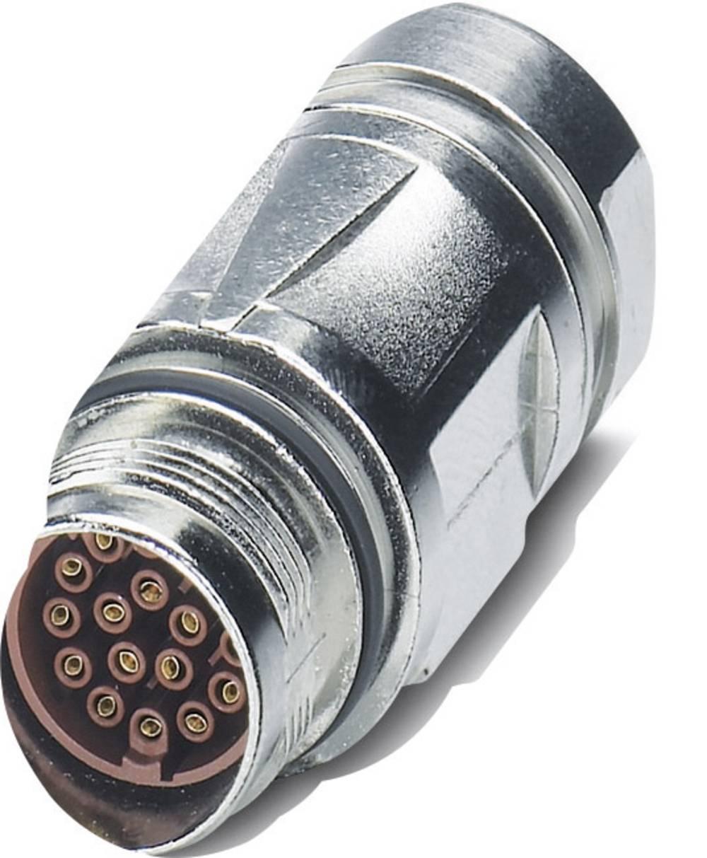 M17-kobling stik Phoenix Contact ST-17S1N8A9005S Sølv 1 stk