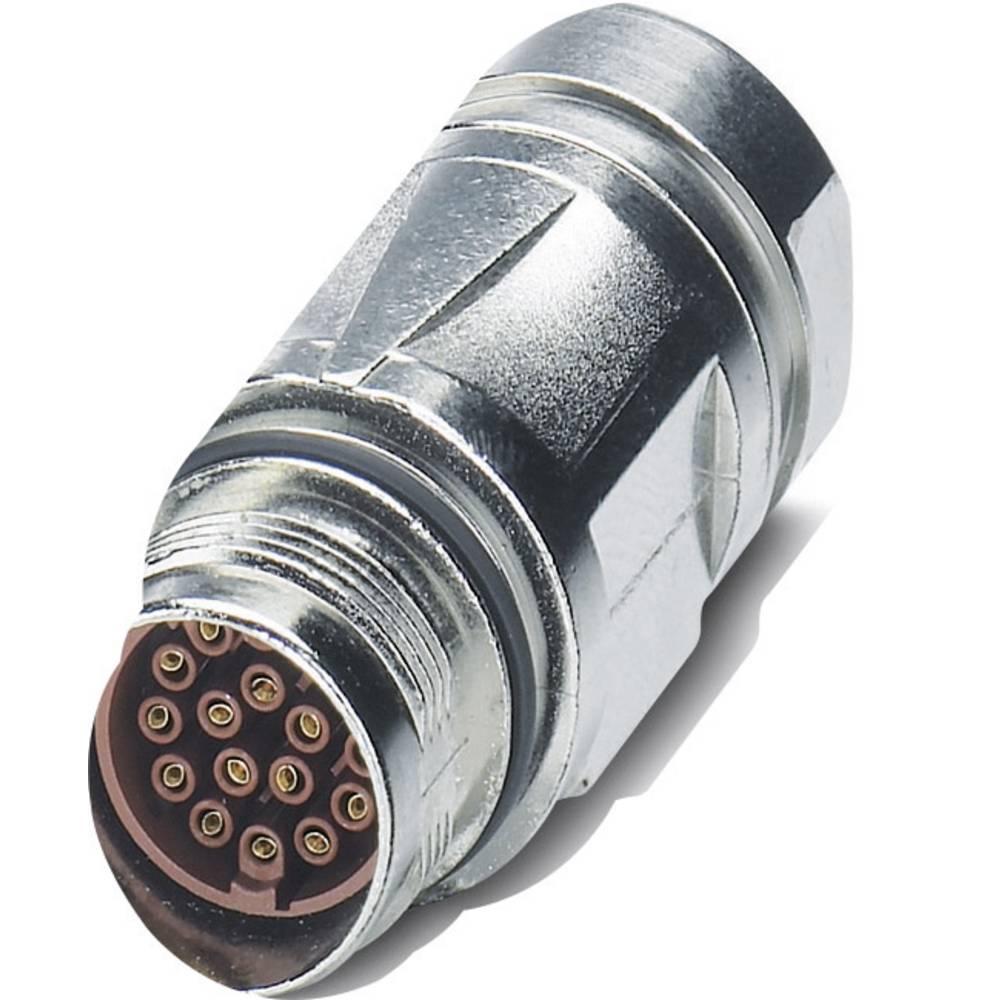 M17-kobling stik Phoenix Contact ST-17S1N8A9004S Sølv 1 stk