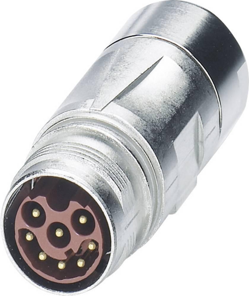 M17 Kompaktni konektor ST-08P1N8A9K04S srebrna Phoenix Contact vsebina: 1 kos