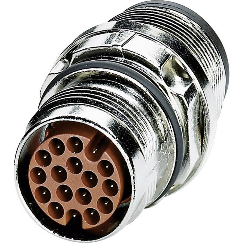 M17 Konektor za naprave centralni montažni navoj ST-17P1N8A6100S srebrna Phoenix Contact vsebina: 1 kos