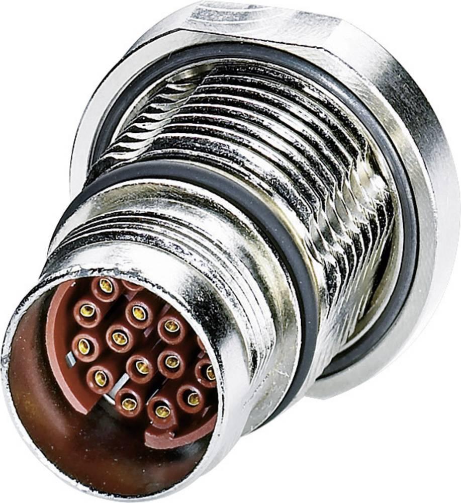 M17 Konektor za naprave centralni montažni navoj ST-08S1N8AH100S srebrna Phoenix Contact vsebina: 1 kos