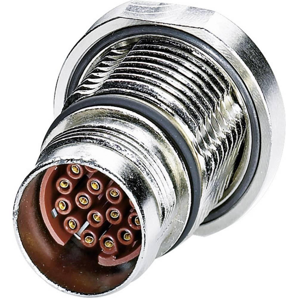 M17 stik. central fastgørelse tråd Phoenix Contact ST-08S1N8AH100S Sølv 1 stk
