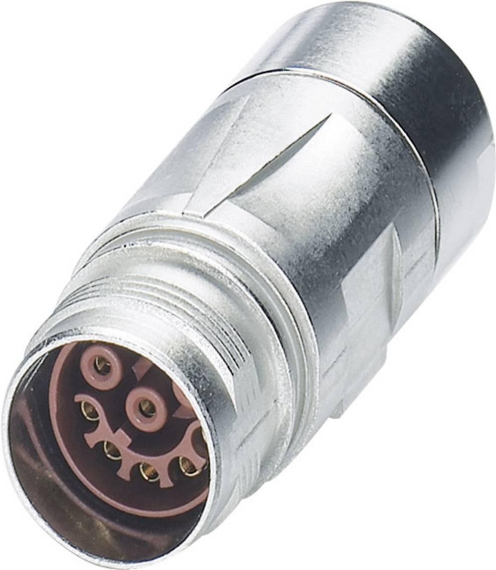 M17 Compact kobling stik Phoenix Contact ST-17S1N8A9K02S Sølv 1 stk