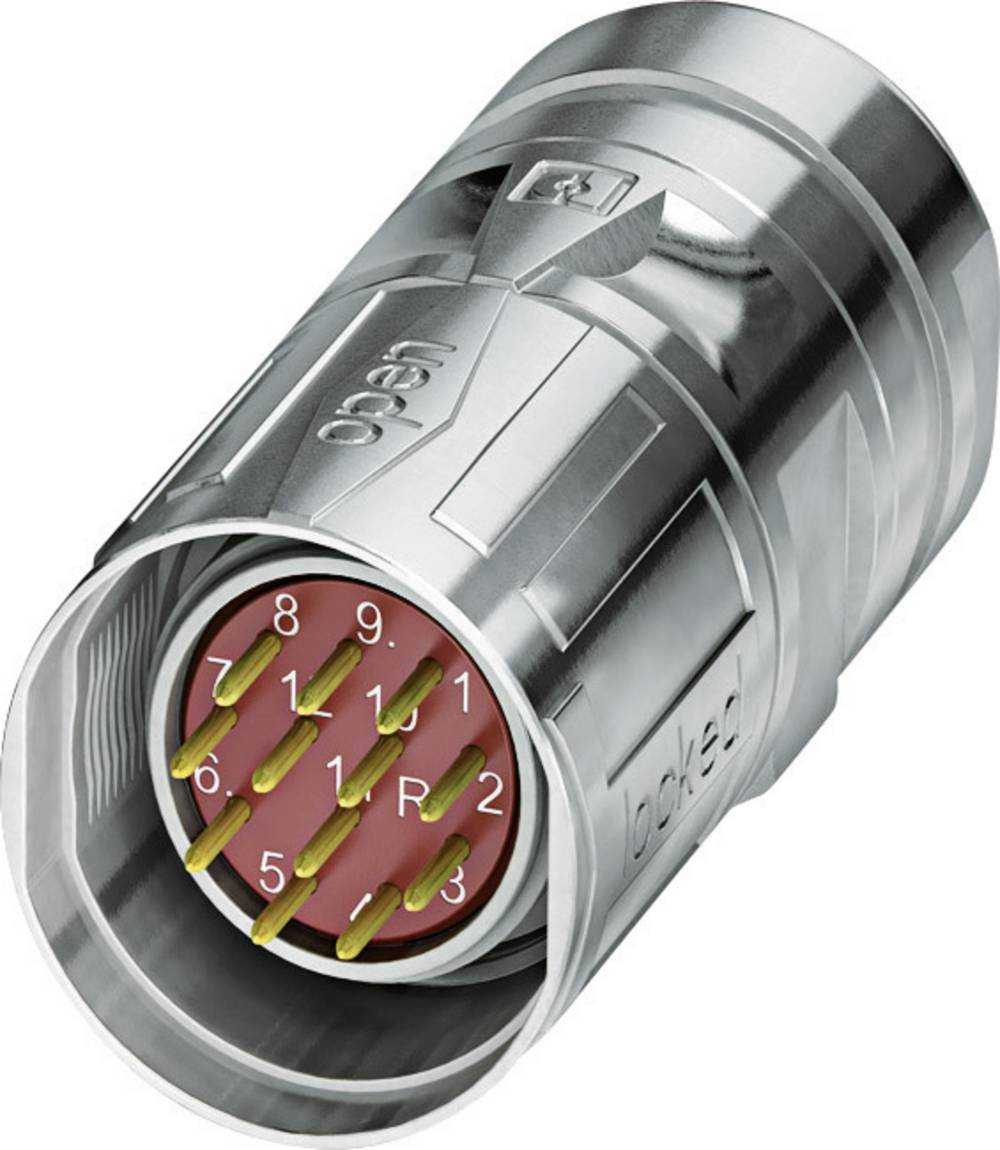 M23 feedback-stik med SPEEDCON Phoenix Contact CA-12M1N8A8502S Sølv 1 stk