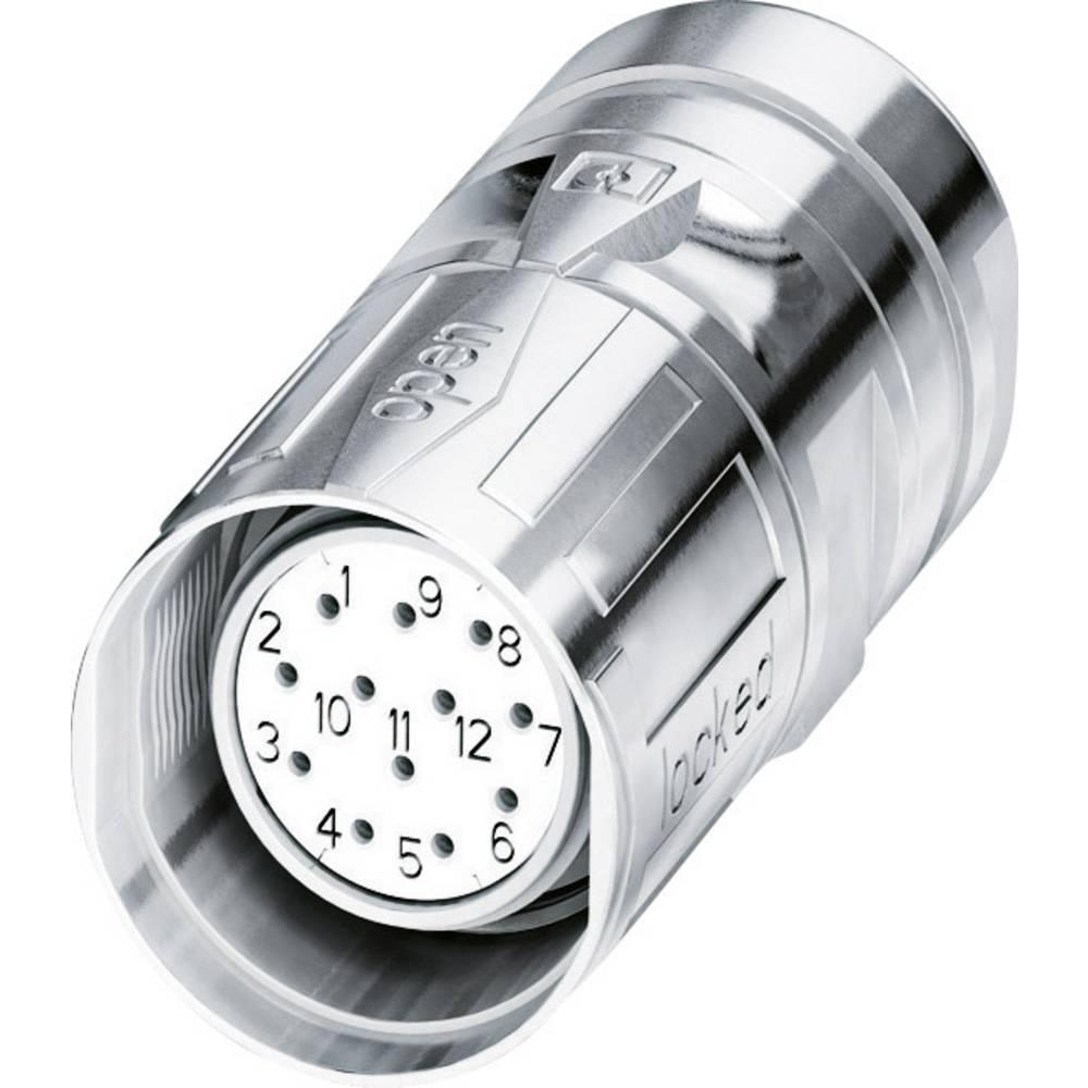 M23-kabelstik Phoenix Contact CA-17S1N8A8008S Sølv 1 stk