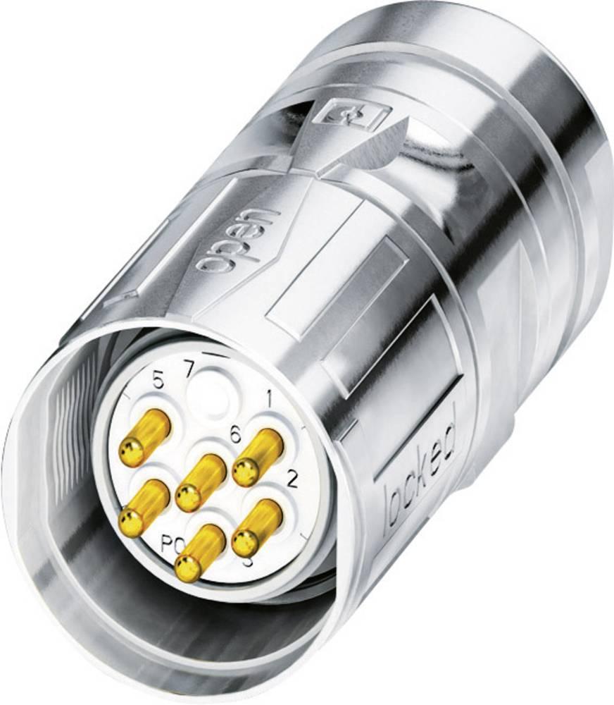 M23 Kabelski vtični konektor CA-07P1N8A8008S srebrna Phoenix Contact vsebina: 1 kos
