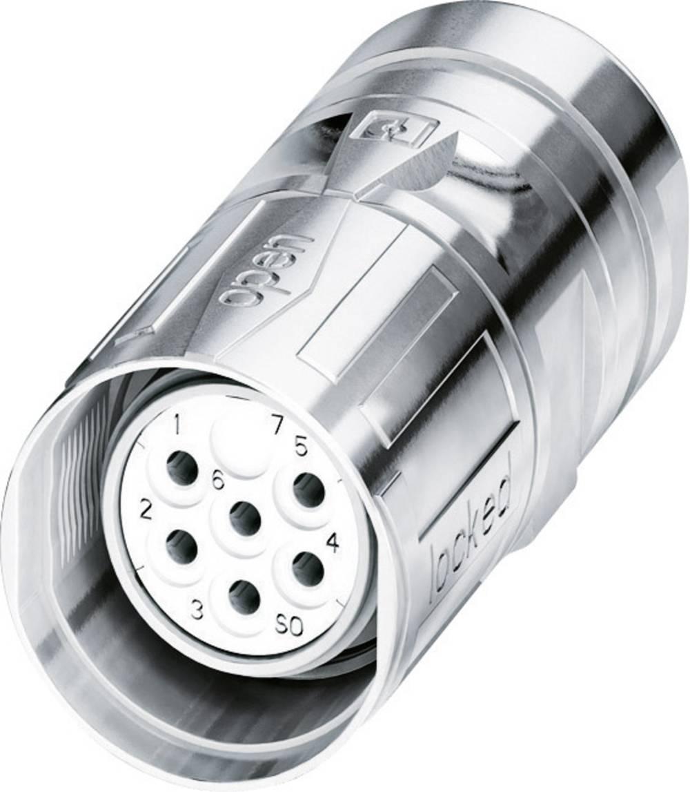 M23 Kabelski vtični konektor CA-09S1N8A8006S srebrna Phoenix Contact vsebina: 1 kos