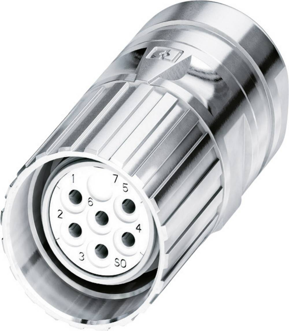 M23-kabelstik Phoenix Contact CA-09S1N8A80DN Sølv 1 stk