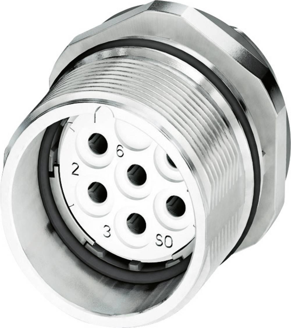 M23 Konektor za naprave CA-09S1N8A6Z00 srebrna Phoenix Contact vsebina: 1 kos