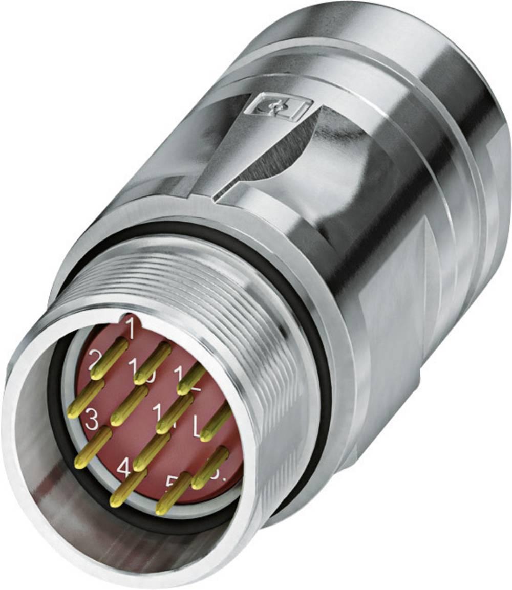 M23 Vtični konektor s SPEEDCON CA-12M2N8A95DU srebrna Phoenix Contact vsebina: 1 kos