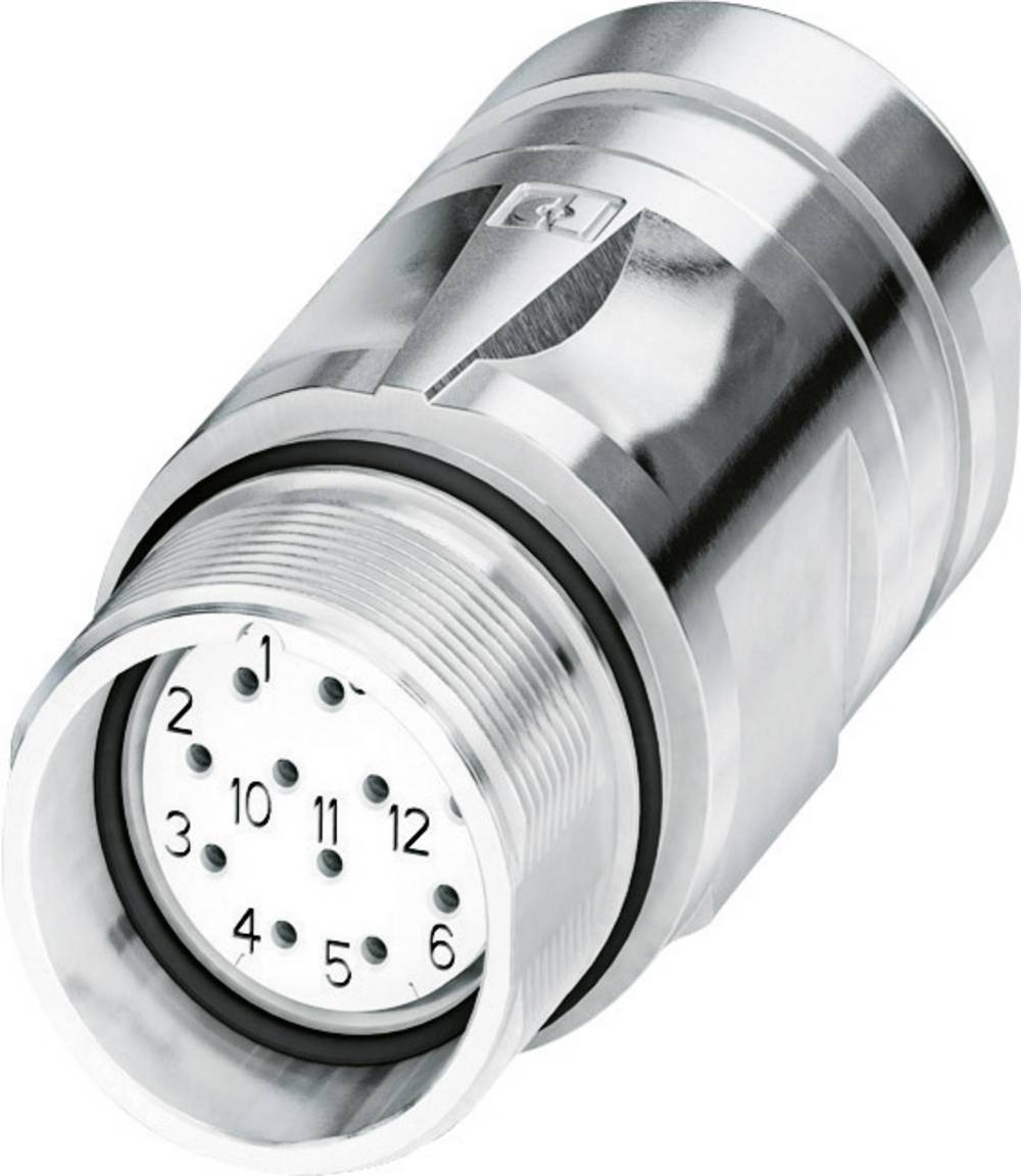 Signalstik, strømstik Phoenix Contact CA-17S1N8A9008 Sølv 1 stk