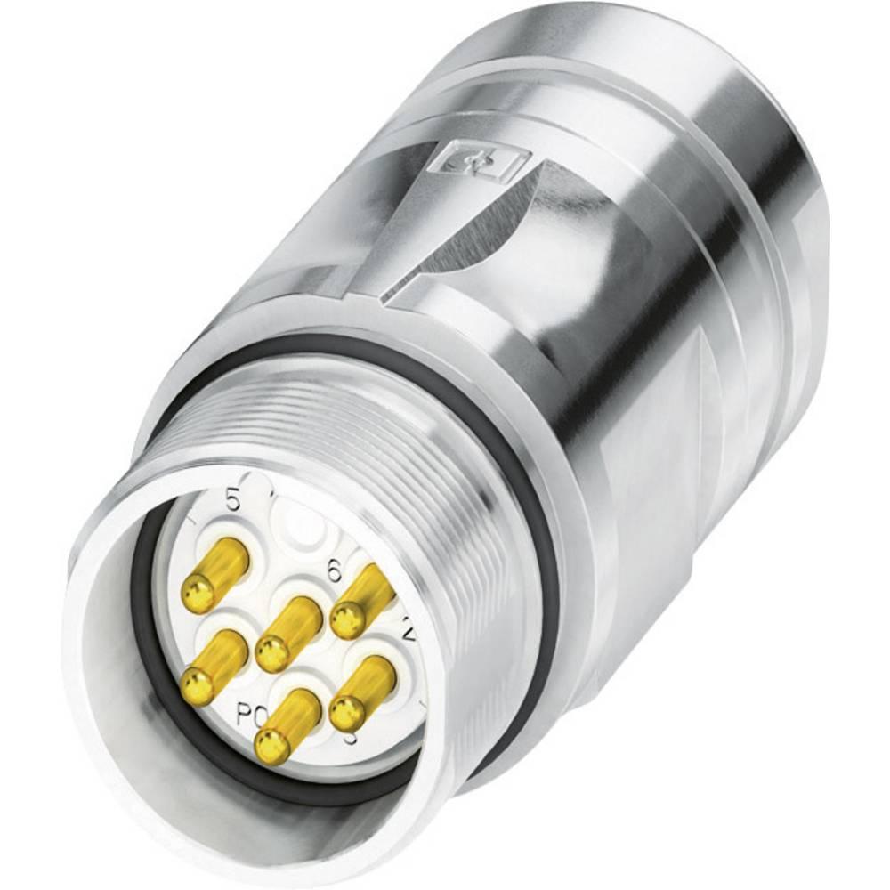 M23-kobling stik Phoenix Contact CA-07P1N8A90DN Sølv 1 stk