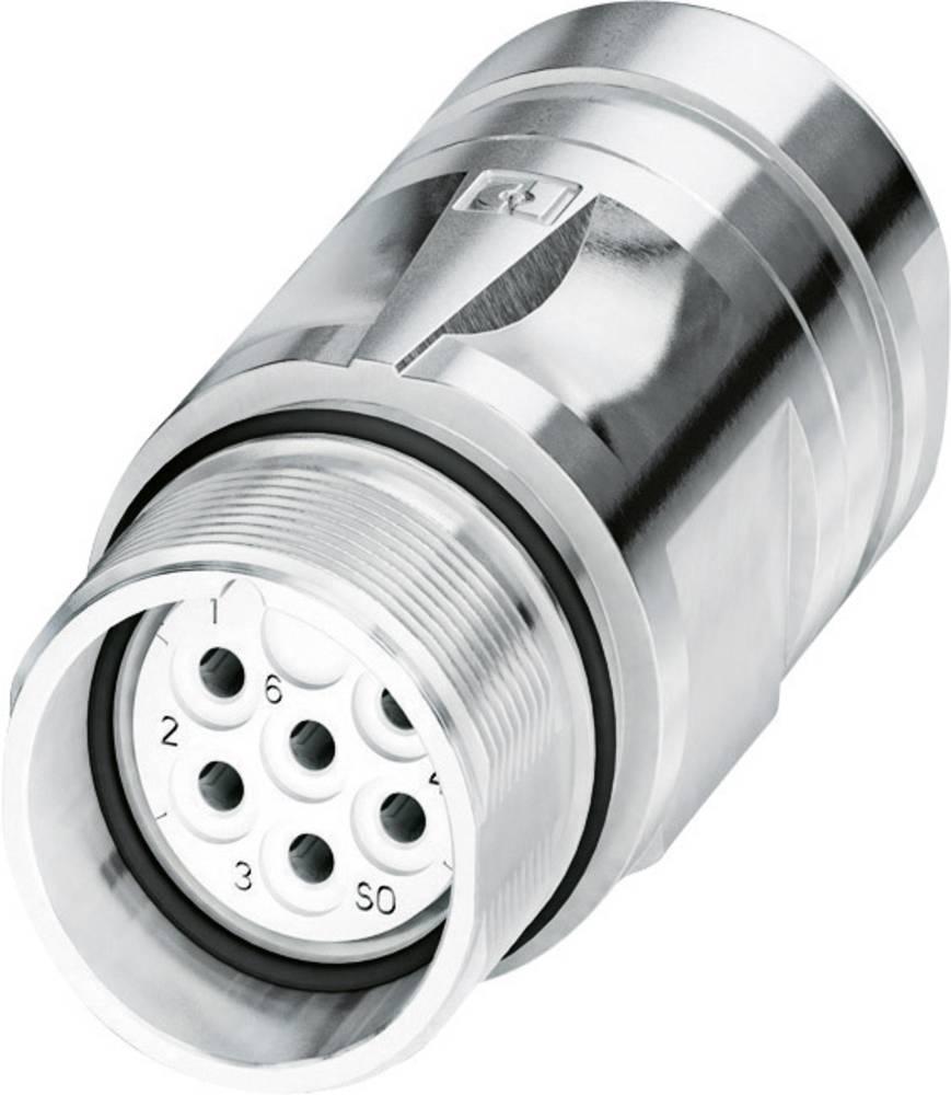 Signalstik, strømstik Phoenix Contact CA-07S1N8A9008 Sølv 1 stk