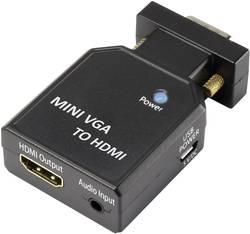 VGA / HDMI Konverter SpeaKa Professional 1230803 Sort