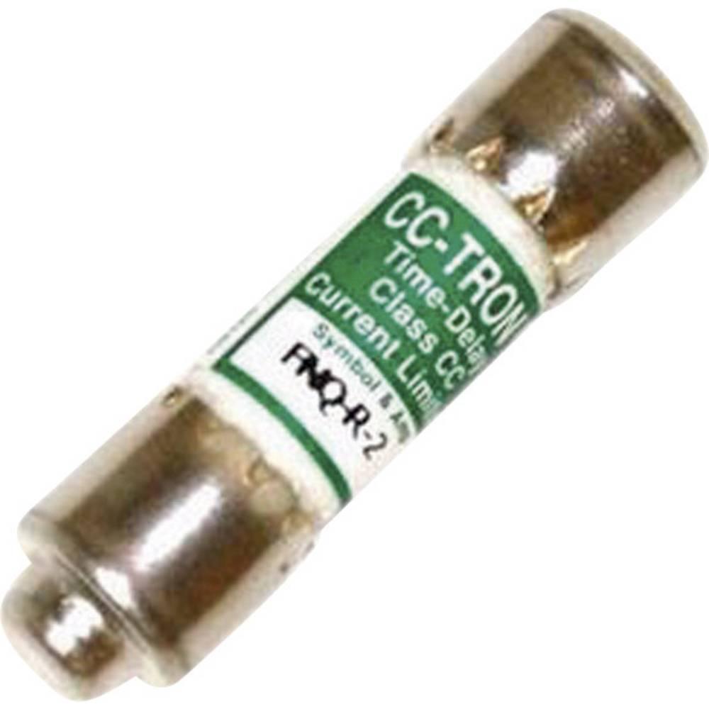 Time Delay sikring (Ø x L) 10.3 mm x 38.1 mm 6 A 600 V/AC Træg -T- Bussmann FNQ-R-6 Indhold 1 stk