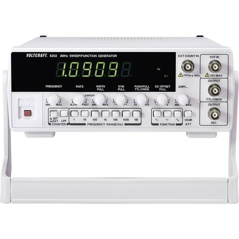 Voltcraft 8202 Mains Powered 2 Mhz Max 1 Channel Manufacturers Pulser Standards No Certificate