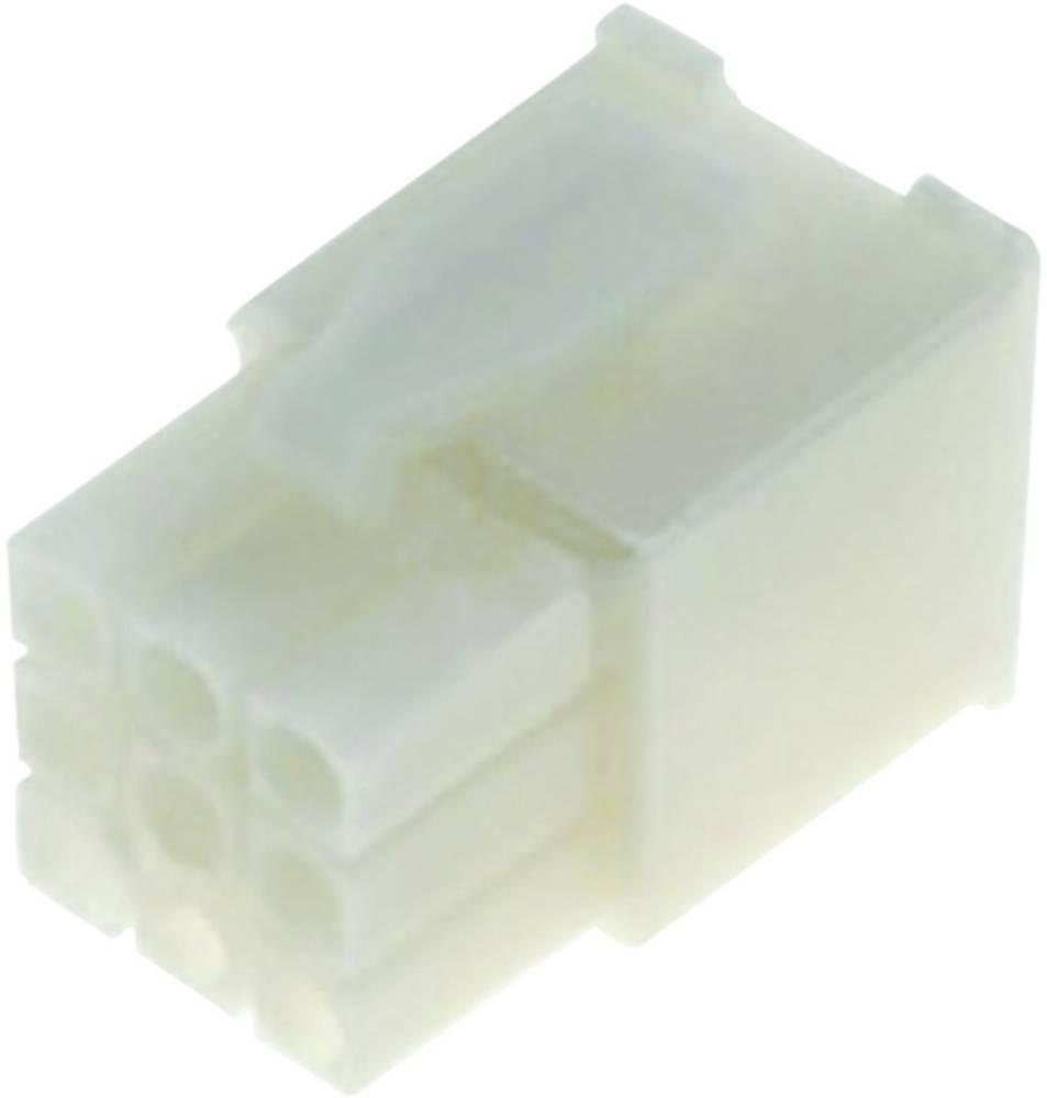Mini-Universalno-MATE-N-LOK pinsko ohišje, št.polov: 12 Mini-Universal MATE-N-LOK TE Connectivity vsebina: 1 kos