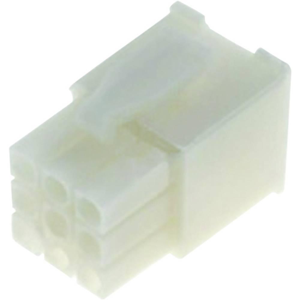 Mini-Universalno-MATE-N-LOK pinsko ohišje, št.polov: 9 Mini-Universal MATE-N-LOK TE Connectivity vsebina: 1 kos