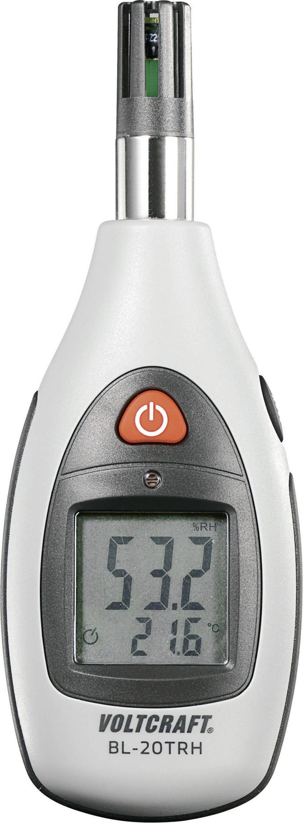 Merilnik vlažnosti zraka (higrometer) VOLTCRAFT BL-20 TRH 0 % rF 100 % rF kalibracija narejena po: DAkkS