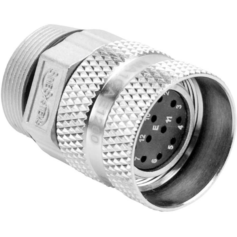 Kabelska vtičnica M23A poli: 16 10 A MA1CAE1600 Amphenol 1 kos