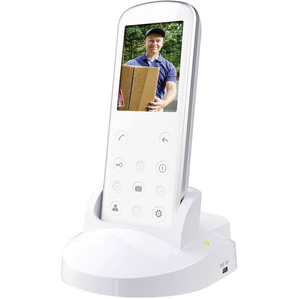 Smartwares Vd36w Video Door Intercom Radio Complete Kit Detached Wireless Ac Power Line Cordless Systems Up To 1000 Item No