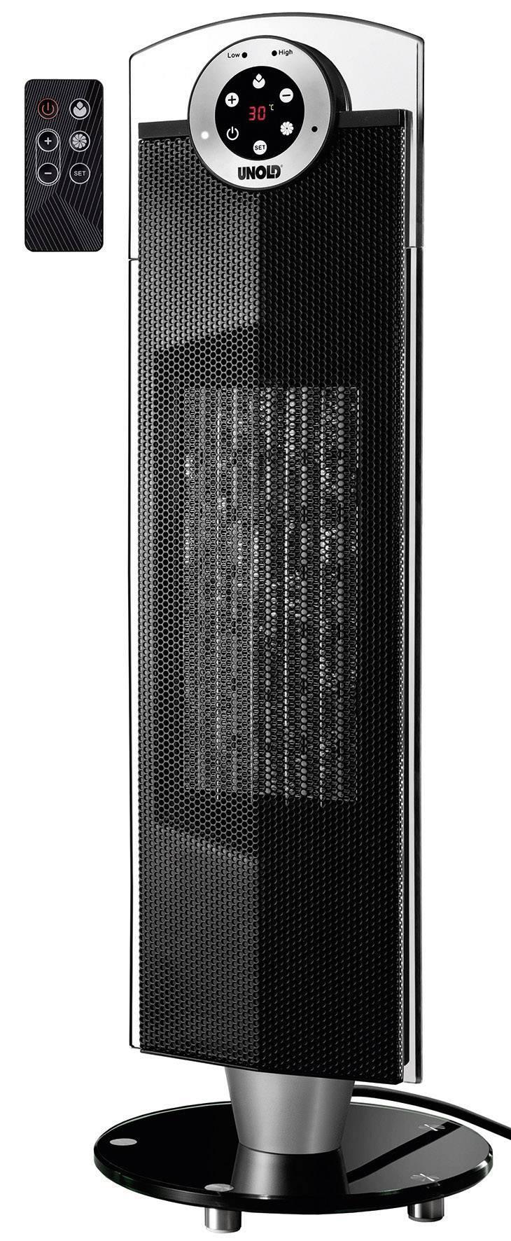 Unold 86525 Keramik-Heizl/üfter Tower electronic