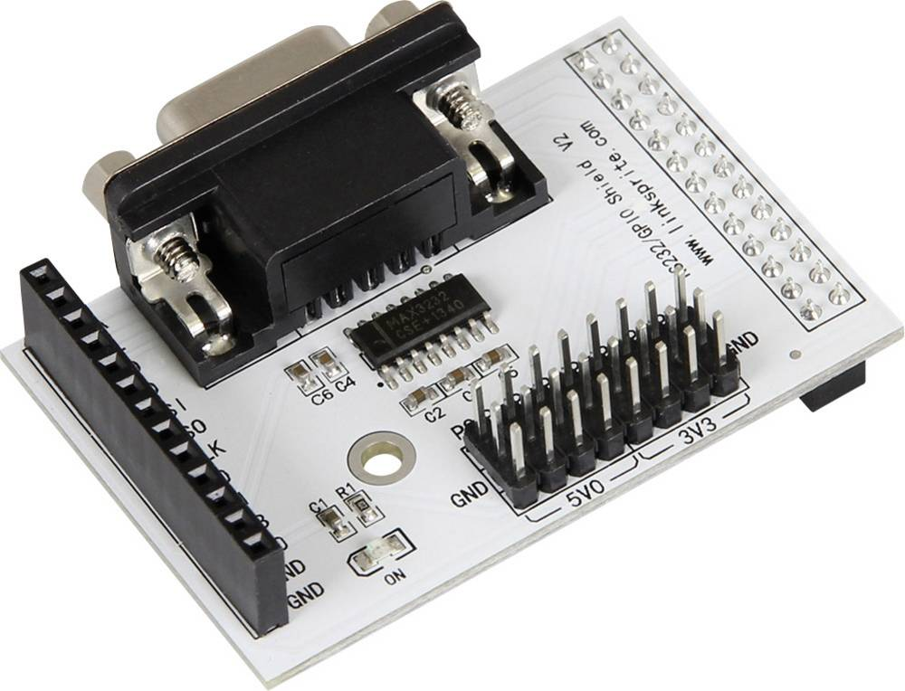 Raspberry Pi® B+ Expansionskort Breakout Kit RS232