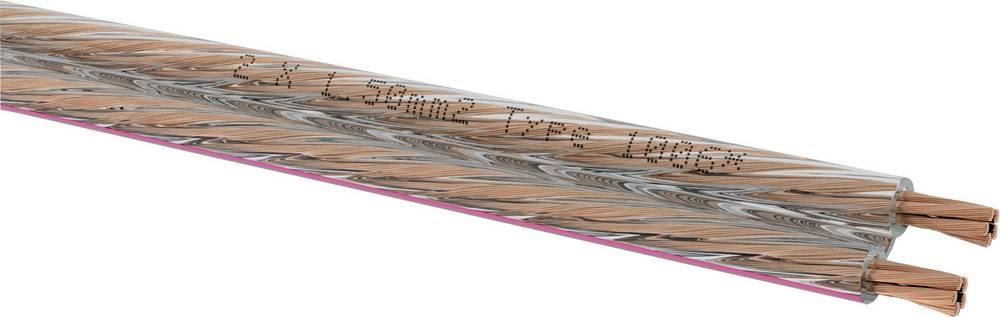 Kabel za zvočnik 2 x 1.5 mm bela Oehlbach 1047 metrsko blago