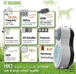 Mobile dog and cat repellent HK1