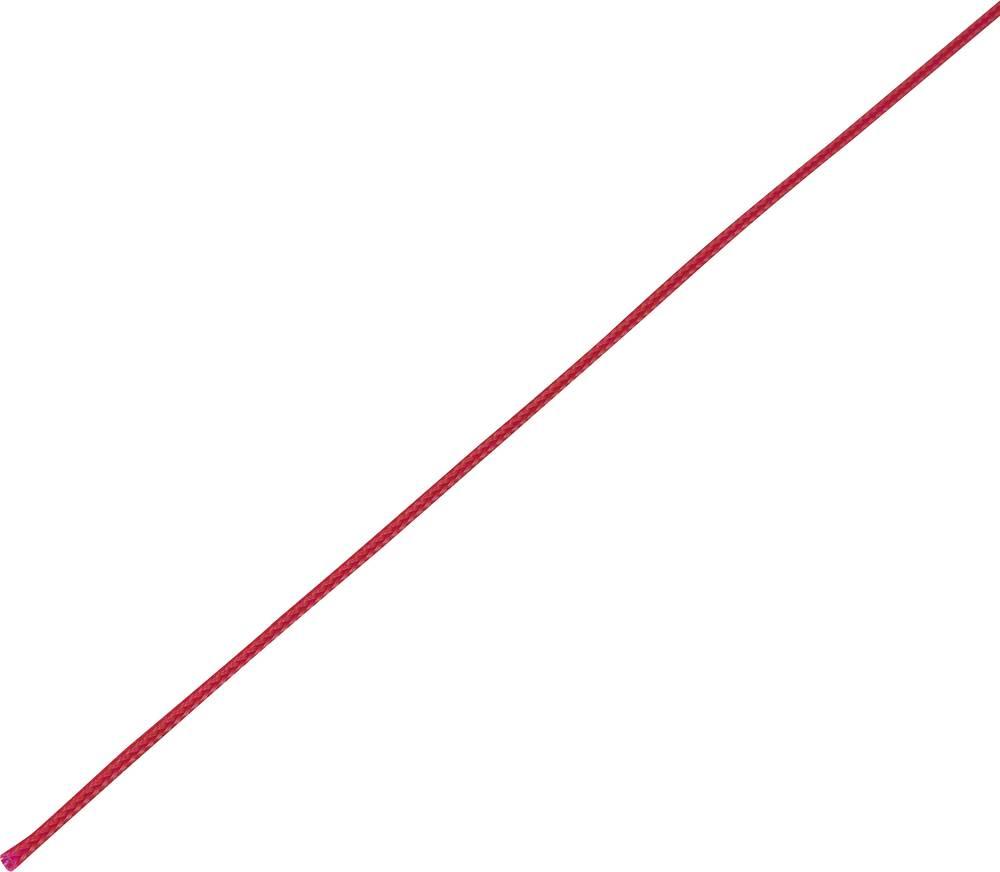 Zaščitna cev, pletenica, snop-: 4 - 8 mm CBBOX0408-RD;Conrad Components vsebina: 10 m