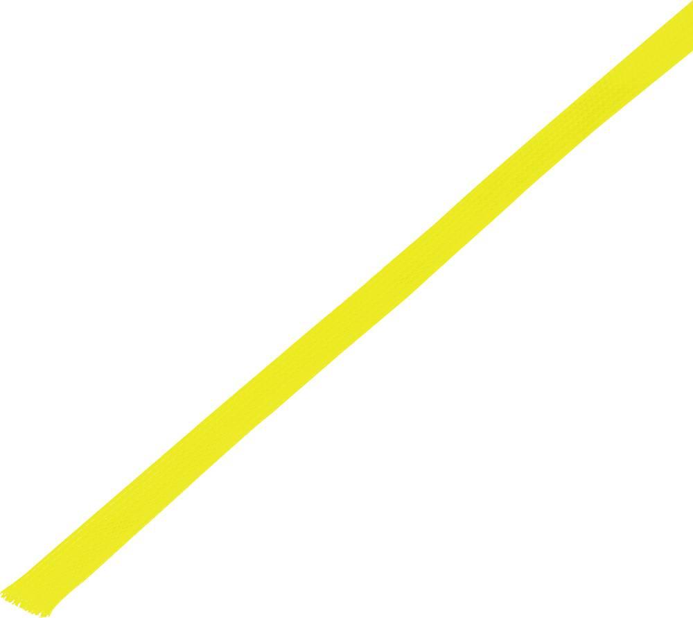 Zaščitna cev, pletenica, snop-: 6 - 12 mm CBBOX0612-YL;Conrad Components vsebina: 10 m
