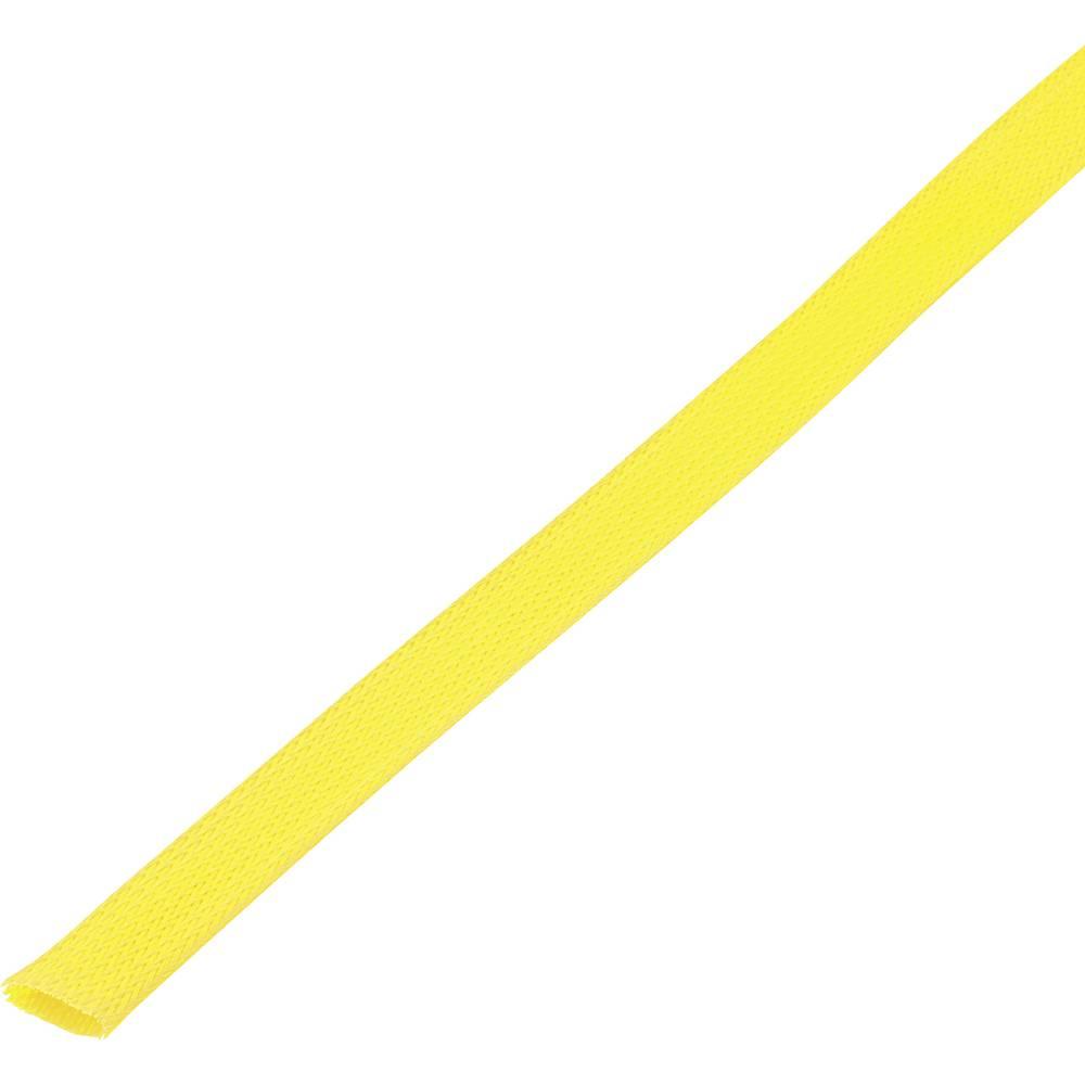 Zaščitna cev, pletenica, snop-: 25 - 34 mm CBBOX2534-YL;Conrad Components vsebina: 5 m