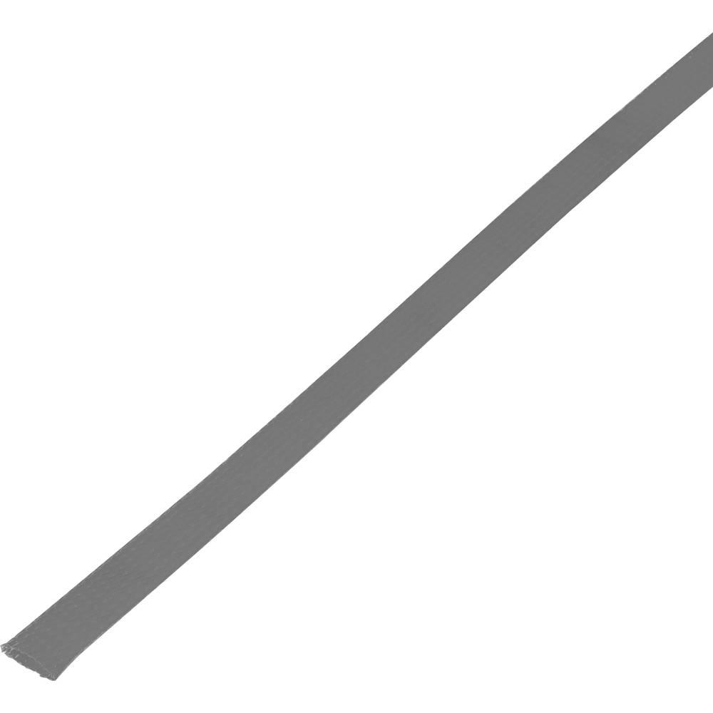 Zaštitno crijevo, pleteno, snop-: 15 - 27 mm CBBOX1825-GY;Conrad Components sadržaj: 5 m