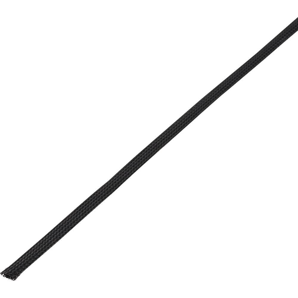 Zaščitna cev, pletenica, snop-: 5 - 10 mm CBBOX0510-BK;Conrad Components vsebina: 10 m